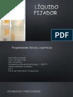 Liquido fijador - Radiologia