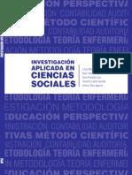 Investigación Aplicada en Ciencias Sociales.