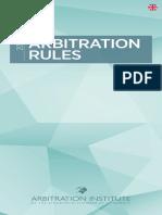 Arbitrationrules Eng Webbversion