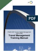 SAP ITQAN 1B Travel Management Training Manual v0.1