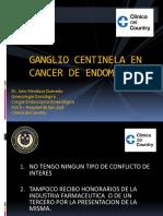 Centinela en Endometrio Club El Nogal