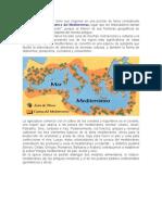 La dieta mediterránea tiene sus orígenes en una porción de tierra considerado único en su tipo.docx