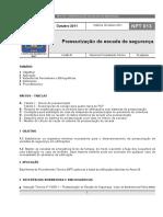 NPT 013_2011_Pressurização de Escada de Segurança