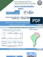 Indicadores Prestacionales SIS 2017