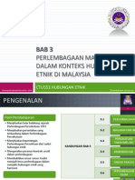 Hubungan Etnik - Perlembagaan Malaysia dan Hubungan Etnik