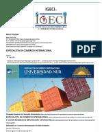 Diplomadoespecialista en Comercio Internacional