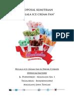 Proposal Kemitraan Hulala Ice Cream Pan