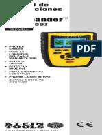 Manual de Instrucciones Escaner Vdv501