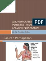 K33 - Mikroorganisme Penyebab Infeksi Saluran Nafas (Mikrobiologi)