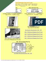 1929 - 1958 Chevrolet Model Identification