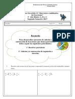 Guía fracciones 12