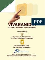 Vivaranidhi E Governance Hand Book