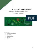 Module 14 Adultlearning.doc