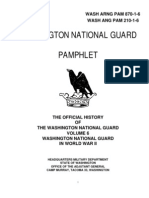 Washington State Guard History