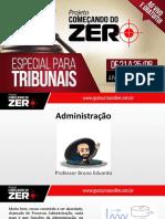 Começando Do Zero Tribunais - Administração