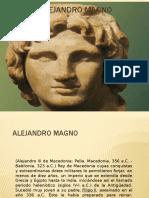 Alejandro Magno  disertacion