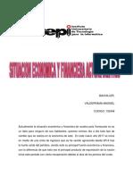 Ensayo- Situacion Economica y Financiera Actual Del Pais