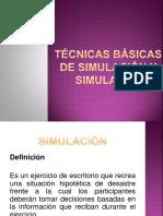 Diapositivas de Simulacion y Simulacro
