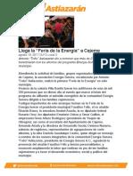 """Llega la """"Feria de la Energía"""" a Cajeme"""