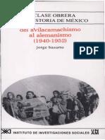 11. Del Avilacamachismo Al Alemanismo [1940-1952]