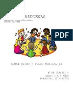 Talleres de Musica Con Niños de 3-5 Años