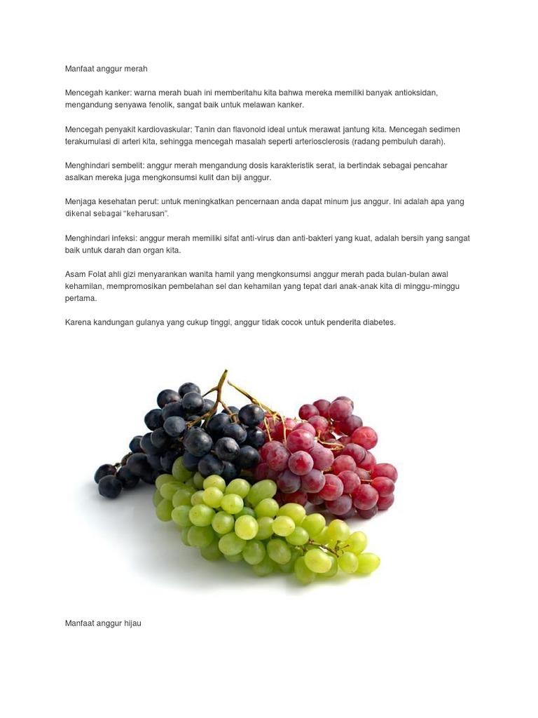Manfaat Buah Anggur Merah Untuk Anak