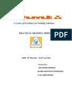 HMT Training Report