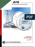 Shark 270 Revenue Energy Meter User Manual_E159708