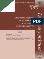 2010 - International Bank for Reconstruction and Development The World Bank Group - Diseño del sistema de seguimento y evaluación de-annotated