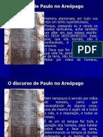 O discurso de Paulo no Areópago.ppt