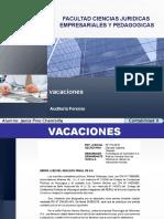 Auditoria Forense - Vacaciones