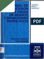 Meza Barros, R. - Manual de la sucesion por causa de muerte.pdf