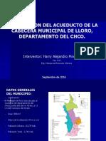 Presentacion Optimizacion de Acueducto de Lloro