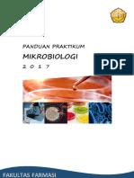 Panduan Praktikum Mikrobiologi 2017