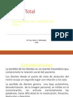 1 - 2.- Dx en Prótesis Total
