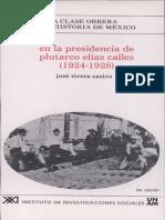 8. En la presidencia de Plutarco ElÃ.as Calles [1924-1928]