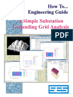 How to Do Substation Grounding Grid Analysis