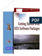Get Start SES-CDEGS