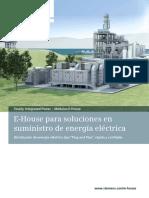 E-House para soluciones en   suministro de energía eléctrica