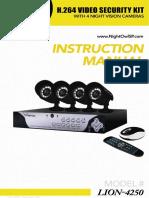 Camaras NightOwl Lion4250 Manual 091020-1