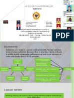 296764085 SKRINING Dan Penerapannya Pada Proses Skrining ISPA Pasien Balita Di Daerah Banjarbaru Ppt English Version