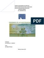 MAPA CONCEPTUAL Evapotranspiraciòn
