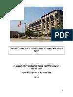 26082014 Plan de Contingencia Para Emergencias y Desastres Consolidado