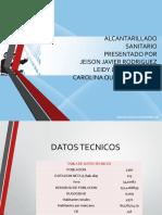 ALCANTARILLADO-presentacion