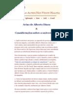 Aviso de Alberto Dines & Considerações Sobre a Universidade