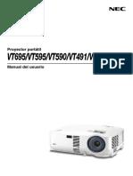 NEC-Vt695 491 Manual s
