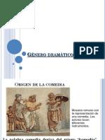 Historia de La Comedia Griega Dramática