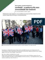 O que é 'pós-verdade', a palavra do ano segundo a Universidade de Oxford - Nexo Jornal.pdf
