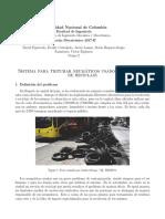Sistema de Triturado de Neumáticos Usados en Procesos de Reciclaje