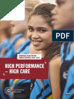 Strategic Plan for Wa Public Schools 2016-2019